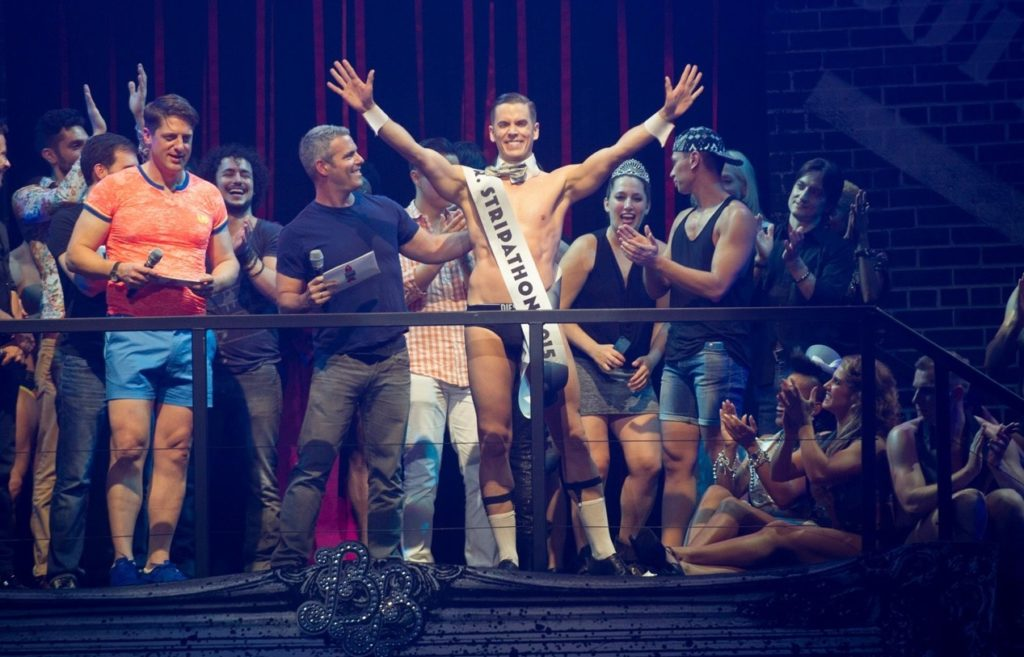 Ben Ryan is named Mr. Stripathon at Broadways Bares 2015