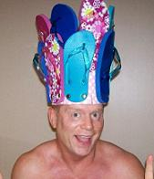 Flip Flop Hat