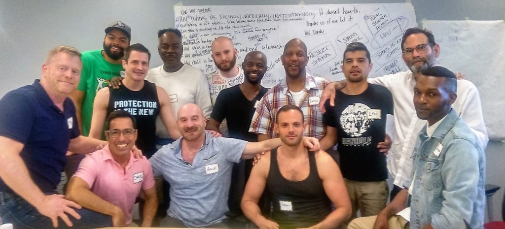 Gay Men Collective Group Photo crop