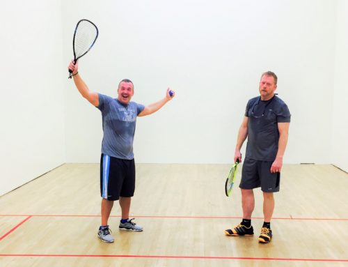 Racquetball as an Exercise in Humility