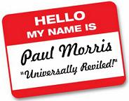 Paul Morris Nametag