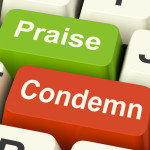 Condemn Praise Keys Meaning Appreciate or Blame