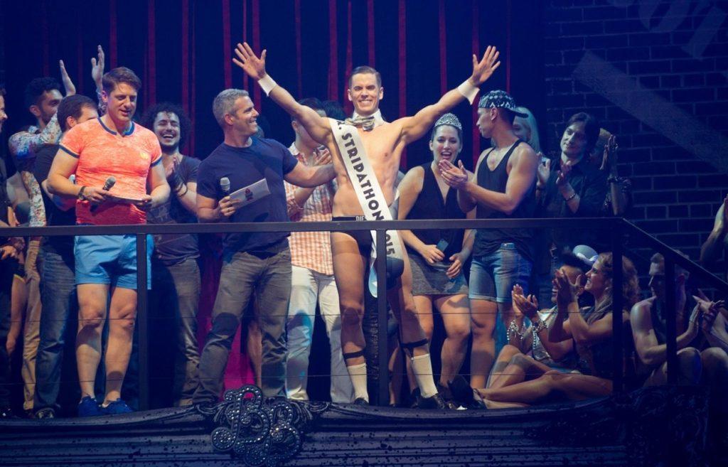 Ben Ryan is named Mr. Stripathon at Broadways Bares 2015