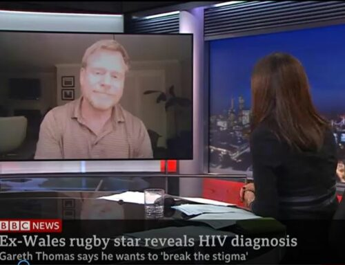 BBC NEWS: Mark S. King on Gareth Thomas, HIV Stigma, and U=U