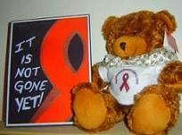 Dab AIDS Bear