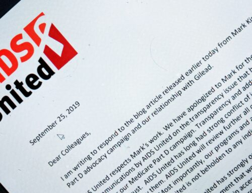 AIDS United Signals Change Following Gilead Controversy