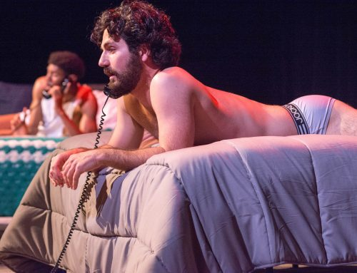 "The Gay Men of ""Jerker"" Escape AIDS Through the Phone Line"