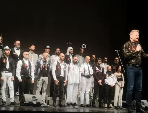 The Italians Honored World AIDS Day with Heart, Music, and Activism