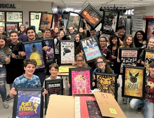 Broadway Sends Amazing Gift to Parkland Theater Students