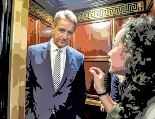 How HIV Activists Helped Create the Jeff Flake Elevator Moment